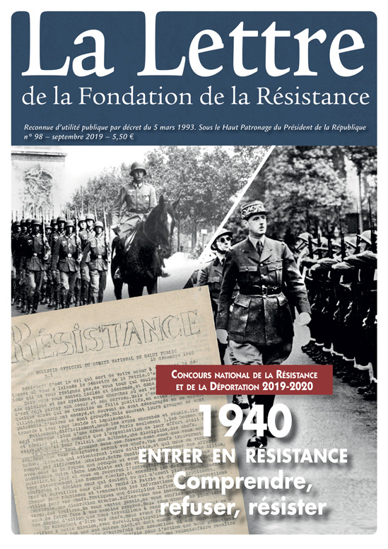 Thème du concours de la résistance