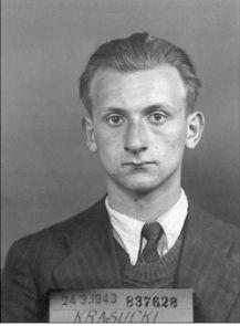 Photographie anthropométrique d'Henri Krasucki prise à son arrestation, en mars 1943. ( © coll. Préfecture de Police de Paris, droits réservés)